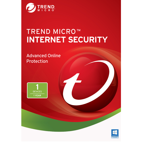 Trend Micro Internet Security 2020 1 Year 1 Pc
