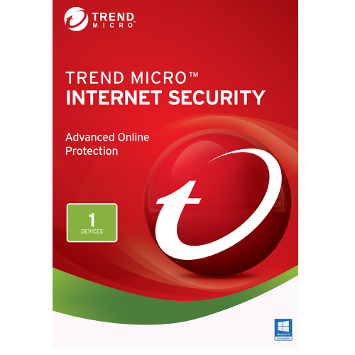 Trend Micro Internet Security 2020 2 Year 1 Pc
